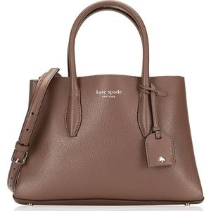 Kate Spade Eva Small Satchel Crossbody ~Walnut NWT
